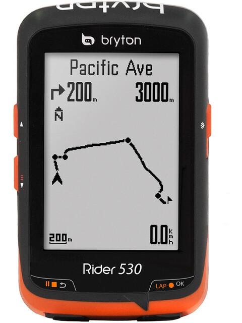 Bryton Rider 530E Fahrradcomputer schwarz